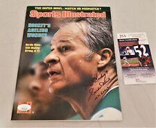 Gordie Howe Signed / Autographed 1/21/1980 Sports Illustrated Inscribed Jsa Coa
