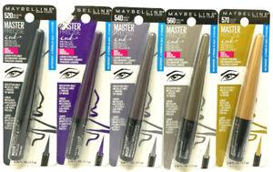 (5) Maybelline Master Precise Ink Metallic Liquid Eyeliner Sealed No Repeats
