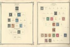 Norway Collection 1854 to 1961 on 30 Scott Specialty Pages, Loaded