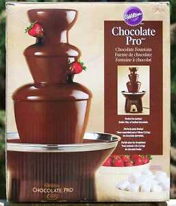 Wilton Chocolate Pro Chocolate Fountain, Model No. TL-094, Holds 4 lbs.