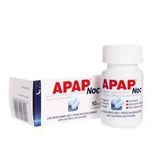 APAP NOC 500mg+25mg, 50tab - painkiller, antipyretic, sleep support
