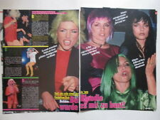 Abba Benny Frida Debbie Harry Blondie Das Boot cuttings clippings Germany German