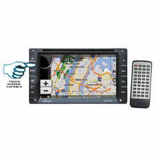 Lanzar 6.5'' Double DIN In-Dash Touch-Slide Control Screen TFT/LCD Monitor w/GPS