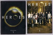 HEROES CAST SIGNED SEASON 1 DVD SET GEORGE TAKEI ,ADRIAN PASDAR ++ AUTO