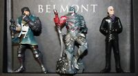 Exclusive Castlevania Lords of Shadow 2 Dracula's Tomb Edition Mini Figures NEW