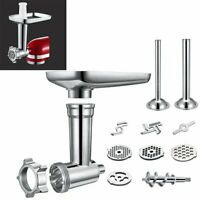 Für KitchenAid Stand Mixer Fleischwolf Meat Grinder Stuffer Chopper Anhang Kit