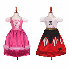 FAIRY PRINCESS UK, Reversible 2 in 1 Princess and Pirate Travis Costume, Age 6/8