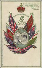 TUCK : CORONATION - Coronation Souvenir 1902- embossed -CORONATION 608 I