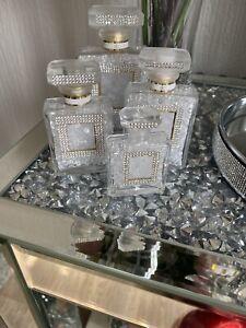 bling perfume bottles