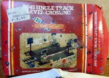 OO Gauge Model Railway Hornby R645 Single Track Level Crossing original old stok