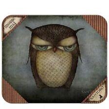 Grumpy Owl Mouse Mat from Santoro