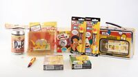 RARE Vintage Mostly New Simpsons Toys And Games Lot 2002-2005 V88