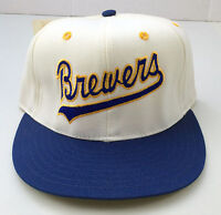 Milwaukee Brewers Pro-Line ANNCO Pro Model Baseball Fitted Hat 6 7/8 Deadstock