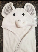 Bamboo Dandles Baby/Toddler Hooded Elephant Towel  Super Soft Unisex