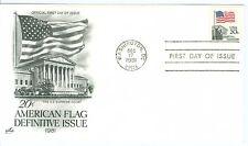 1c Gems US #1894 Flag over Court  Artcraft  unaddressed FDC