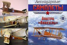 Bargain ! Soviet Russian  Anatra Anasal   Aircraft  + magazine !