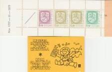 Finland booklet postfris 1978 MNH PB 10 I - Staatswapen 11-1979 (9)