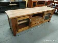 solid timber hardwood / pine entertainment unit TV stands | postage $30 in Melb.