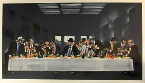 Waldemar Swierzy The Last Brunch Hand Signed Lithograph S2 Art