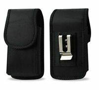 AGOZ Heavy Duty Rugged Belt Clip Loop Pouch Case Holster For Motorola Phones