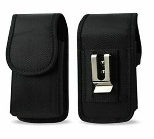 AGOZ Heavy Duty Rugged Belt Clip Loop Pouch Case Holster For Jitterbug Phones