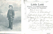 Little Lotti,Smalest Sobrette,Dancer,Stage,Circus Related,Used,Kiel,Germany,1902