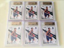 Lot of 6 林書豪 Jeremy Lin 2010-11 Rookies & Stars #129 RC BGS 10 Toronto Raptors