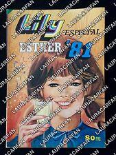 REVISTA LILY ESTHER 81 POSTER NADIA COMANECI - VILLAGE PEOPLE - MIGUEL BOSE