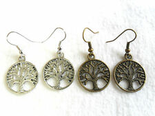 Mixed Metals Drop/Dangle Costume Earrings without Stone