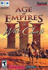 Age of Empires III: The War Chiefs Expansion Pack MAC *NEW*