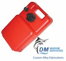Marine Fuel Tank 11.7L with Gauge Vertical and Portable