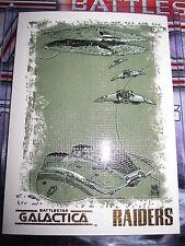 THE COMPLETE BATTLESTAR GALACTICA SEASON 1 RARE ARTIFEX RAIDERS N5 BY MATT BUSCH