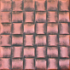 TEXTURE STYROFOAM CEILING TILES 20x20 R25AC Antique Copper