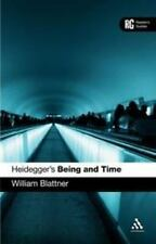 Heidegger's 'being And Time': A Reader's Guide (reader's Guides): By William ...