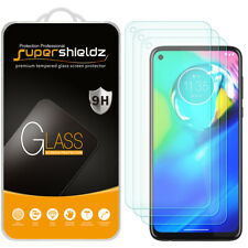 [3-Pack] Supershieldz Tempered Glass Screen Protector for Motorola Moto G Power