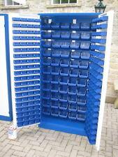 Werkstattschrank Sortierschrank Sichtlagerkästen Kleinteileschrank abschließbar