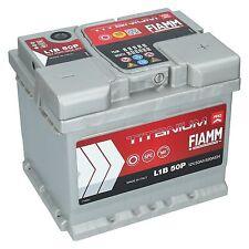 PKW Autobatterie 12 Volt 50 Ah Fiamm Pro Starterbatterie ersetzt 44ah 45ah