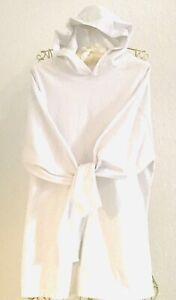 ☺️AMERICAN VINTAGE 🥰 Hoodie S M  Sweater Weiß Kapuze NEU Oversize