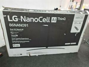 "LG 86NANO916NA 86"" Smart 4K Ultra HD HDR LED TV Google Assistant & Amazon Alexa"
