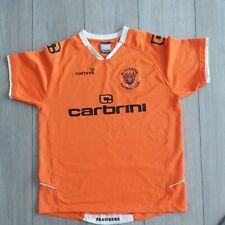BLACKPOOL FC Carbrini Short Sleeve Home Football Shirt 2009-2010 size XLBOYS A26
