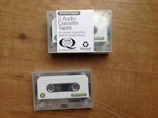 Three SIGNALEX Audio Cassette Tapes 90 minutes of play (C90) for cassette player