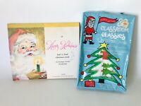 Vtg Holiday Christmas Cards Seal and Send and Classroom Trading Cards NOS
