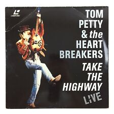 LaserDisc Tom Petty and & The HeartBreakers Take The Highway Live