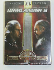 Highlander 2: MacLeod (Dvd, 2004, 2-Disc Set, Special Edition) Brand New Sealed