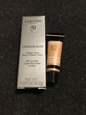 LANCOME COLOUR DOSE ALL DAY WEAR CREME EYECOLOUR & BASE Sable Trinidad NIB