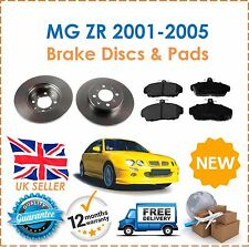 For Rover MG ZR 105 1.4 2001-2005 Front 2 Solid Brake Discs & Brake Pads Set New