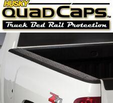 Husky 97121 Quad Caps Bed Rail Protectors GMC Sierra 6'5'' Truck Bed 2007-2013