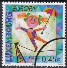 Specimen, Luxembourg Sc1091 Europa, Circus, Tightrope Walker
