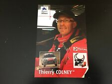 CP POSTCARD CARTOLINA CITROEN DS3 R3 THIERRY COLNEY RALLYE WRC RALLY