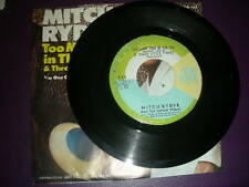 """Pop 45 Mitch Ryder """"Too Many Fish In The Sea/ One Grain Of Sand"""" New Voice VG++"""